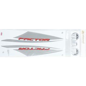 Adesivo Kit Yamaha Ybr Factor 125 2014 Branca