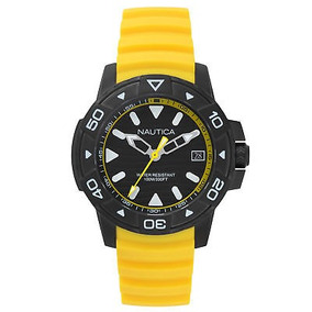 a83aea962781 Reloj Nautica Amarillo Mod14604100 Orig - Relojes Nautica en Mercado ...