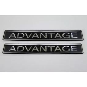 Par Emblema Adesivo Resinad Advantage Chevrolet Astra Vectra