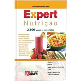 Livro + Cd Expert Nutrição 3500 Questoes + Receitas