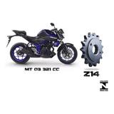 Pinhao 14 Yamaha Mt03 321 (520) 2016 - Yzf R3 (520 ) Inmetro