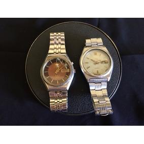 7cf828df04d Lote 2 Relógios Masculino Seiko E Orient