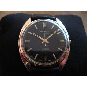 Antiguo Reloj Steelco Cal. Eta 2390 Extra Plano.