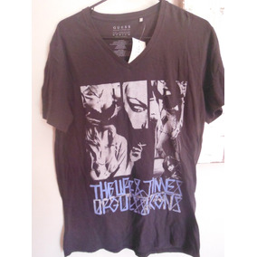 Camisa Playera Guess Edicion Phantom Moda Fashion Gris
