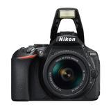 Camara Nikon D5600 Dslr Con Af-p Dx 18-55mm F/3.5-5.6 Vr