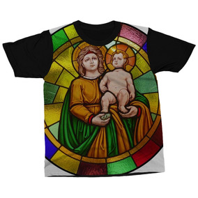 Camiseta Chronic Vitral Jesus Cristo Blindado - Camisetas no Mercado ... 838aa988535