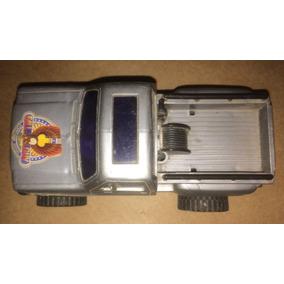Jeep Duro Na Queda Glasslite Carro Antigo Brinquedo Fricção