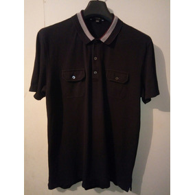 e680cd8083676 Playera Tipo Polo Marca Gucci Original
