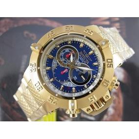02ac52a5cd3 Relogio Invicta Ouro Puro - Relógio Invicta Masculino no Mercado ...