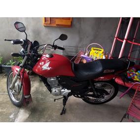 Peça Moto Fan150 2013 Vermelha