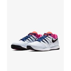 Tenis Nikecourt Air Zoom Vapor X Blanco Fucsia