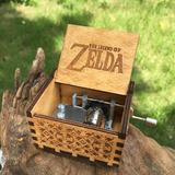 Caixinha De Música Jogo Legend Of Zelda Madeira Artesanal