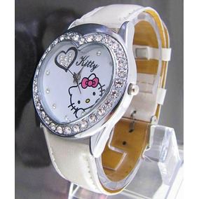 Reloj De Pulsera Hello Kitty De Corazon Dama Hermos