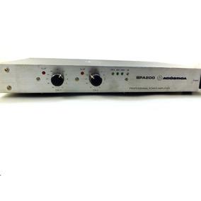 Equalizador Amplificador Profissional Acústica Spa200 A8769