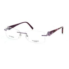 1c85a428932ec Armacao Oculos Feminino Ana Hickmann Roxo - Óculos Armações no ...