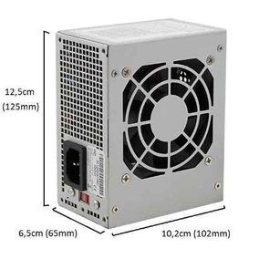 Fonte Mini Atx Satellite 200w Reais 20+4p Modelo Sfx