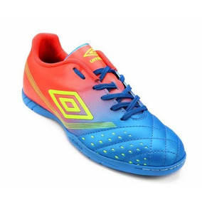 ec36f18181 Azul Umbro Id Stealth Br Ii Futsal Branco Dourado - Chuteiras no ...
