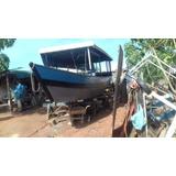 Barco De Madeira Ypê 12 Metros