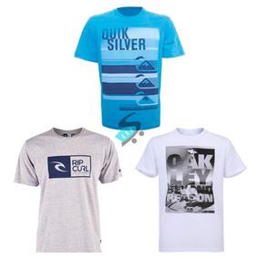 6f566b405b Kit 10 Camisa Camiseta Masculina Estampada De Marca Atacado