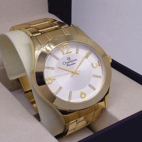 a0165a2cefa Relogio Feminino Dourado Champion Original Ch24268h - Relógios De ...