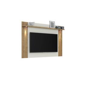 Panel Para Tv Fortaleza Avellana Mueble Moderno Para Tv