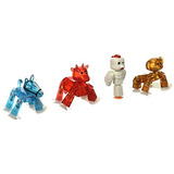 Zing Stikbot 4 X Mascotas: Mono, Caballo, Vaca, Pollo!