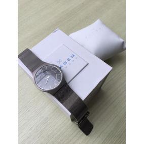 Relógio Masculino Skagen Dinamarca Titanium Preto - Relógios De ... 71614580f8
