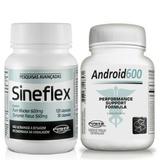 Kit Ganho De Massa Muscular - Sineflex + Android 600 Power
