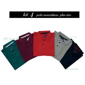 Camisa Polo Tamanhos Especiais - Pólos Manga Curta Masculinas no ... 611e70f722b89