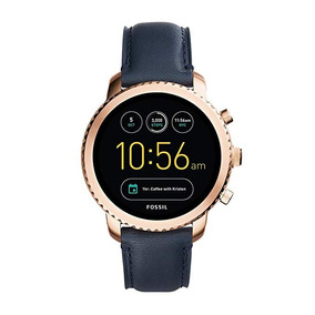 Smartwatch Fossil Explorist Gen 3 Navy Rose Gold Ftw4002