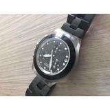 7cde4127963 Relógio Swatch Feminino Irony Diaphane Preto Usado Usado no Mercado ...