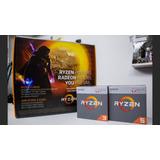 Pc Ryzen 3 2200g/8gb Ddr4/rx 560 4gb + 6% Desc En Efectivo!