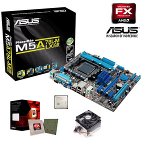 Kit Placa Mae Asus M5a78l-m Lx/br Ddr3 + Fx 6300 3.6ghz 14mb
