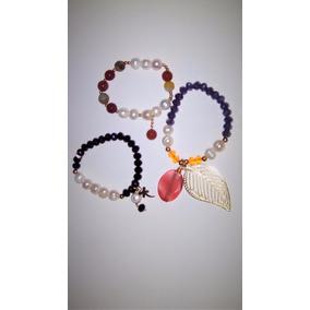 Pulseras Artesanales Con Perlas Cultivadas
