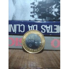 Moeda Comemorativa 50 Anos Banco Do Brasil - 2015 - Nova