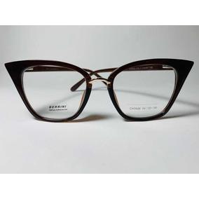 61cfd809262cd Armação De Grau Berrini Oculos - Óculos no Mercado Livre Brasil