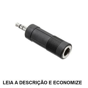 Adaptador J10 ( P10 Femea) Stereo X P2 Stereo - M.e