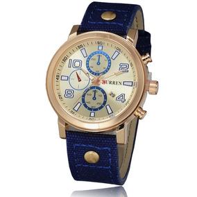 fd702a4f219 Relógio Curren Original 8199 Esportivo Barato Imperdível