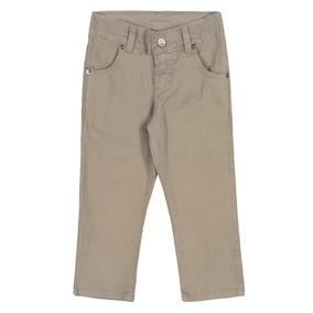Calça Infantil Colorittá Em Sarja Com Elastano Menino 4 A 14