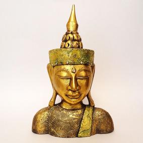 Escultura Buda 50 Cm - Decoração no Mercado Livre Brasil 86298cc198b