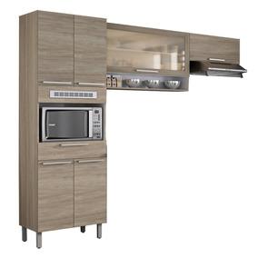 Cozinha Compacta Itatiaia Fluence 3 Peças Aveiro