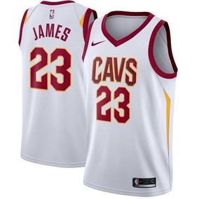 Camisa Lebron James Cleveland Cavaliers Branca M 975e10be1d64a