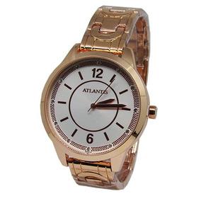9b0c33a7269 Relogio Atlantis Rose - Relógio Atlantis Feminino no Mercado Livre ...