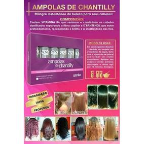 Kit Ampolas De Chantilly Azenka Cosméticos