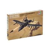 A -10 A/c Thunderbolt 2 By Italeri # 1376 1/72