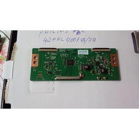Placa Tcom Smart Tv Philips 42pfl4007g/78 Usado Perfeito