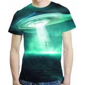 Camisa Ovnis Camiseta Extraterrestre Ufo - Estampa Total