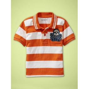 Gap Bebe Camisa  camisetas Polo Rugby Listrada Várias Cores 83ba0d187f1