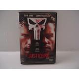Dvd Filme O Justiceiro Ação Tom Jane John Travolta Dublado
