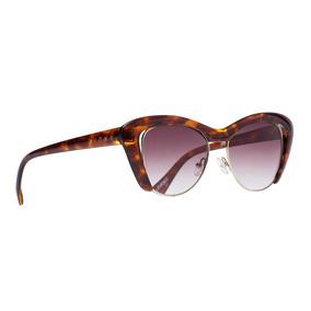 0d09a7b9d Evoke Amplifier Branco Com Listras Rosa E Azul De Sol - Óculos no ...